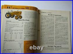 1966 International Harvester industrial equipment buyers guide catalog brochure