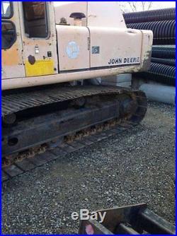 1989 John Deere 790 DLC Excavator Diesel Engine Pad's Long Track CALIFORNIA