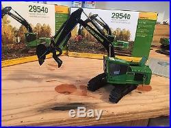 1/50 Custom John Deere 2954 Road Builder Excavator With Thumb For Logging