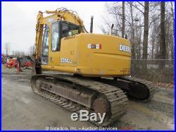 2003 John Deere 225C LC RTS Hydraulic Excavator A/C Cab Hyd Q/C Trimble GCS900