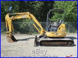 2004 John Deere 50C ZTS Hydraulic Mini Excavator Rubber Tracks Thumb Bucket