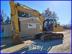 2005 John Deere 160C LC Excavator, Heat/AC, 6092 Hours, Thumb