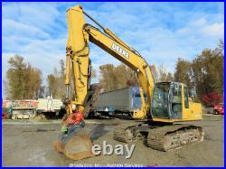 2005 John Deere 160C LC Excavator Hydraulic Thumb Q/C Aux A/C 2-Buckets bidadoo