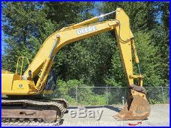 2005 John Deere 330CLC Hydraulic Excavator 36 Bucket Hyd Q/C Crawler Digger Q/C