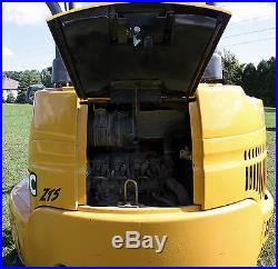 2005 Mini Excavator John Deere 27c Zts 1926 Hrs