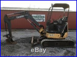 2007 John Deere 27D Mini Excavator