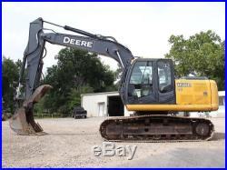 2008 JOHN DEERE 160D LC EXCAVATOR- EXCAVATOR- LOADER- CRAWLER- DEERE- 38 PICS