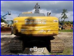 2009 John Deere 270D LC Excavator A/C 50 Bucket aux Hyd Repair Cab bidadoo