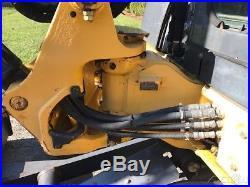 2009 John Deere 50D Rubber Track Midi-Excavator Cab AC Diesel Crawler Excavator