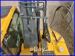 2010 John Deere 135D Excavator Cab, Heat/AC, Long Arm