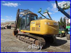 2010 John Deere 160D LC Hydraulic Excavator A/C Cab Q/C Aux Hyd bidadoo