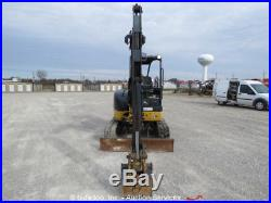 2010 John Deere 35D Mini Excavator Rubber Tracks Backhoe Aux Hyd Diesel bidadoo