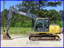 2011 John Deere 120D Crawler Excavator