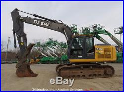 2011 John Deere 160D LC Excavator Hydraulic Thumb A/C Cab Q/C Aux Hyd bidadoo