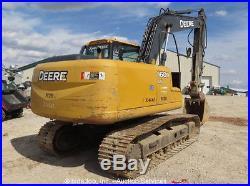 2011 John Deere 160D LC Hydraulic Excavator Tractor A/C Cab Aux Hyd bidadoo