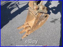 2011 John Deere 17D Mini Excavator Aux Hyd Diesel Backfill Blade Rubber Tracks