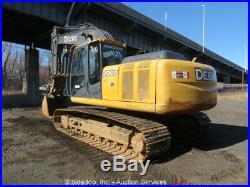 2011 John Deere 200D LC Excavator Hydraulic Thumb A/C Cab Aux Hyd bidadoo