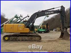 2011 John Deere 200D LC Hydraulic Excavator 36 Bucket A/C Cab Aux Hyd bidadoo