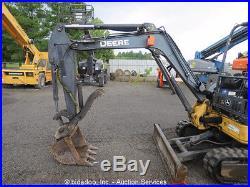 2011 John Deere 35D Mini Excavator Hydraulic Thumb Aux Hyd Dozer Blade bidadoo