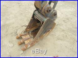 2011 John Deere 35D Mini Excavator Rubber Tracks Q/C Aux Hyd Dozer Blade bidadoo