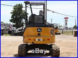 2011 John Deere 35d Mini Excavator- Excavator- Backhoe- Loader- Deere- 33 Pics