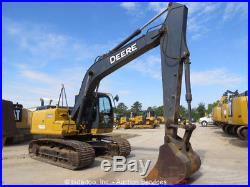2012 John Deere 160G Hydraulic Excavator A/C Cab 36 G/P Bucket bidadoo