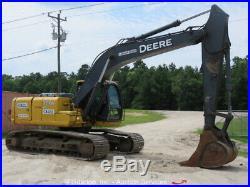 2012 John Deere 200D LC Hydraulic Excavator A/C Cab Tractor Aux Hyd bidadoo
