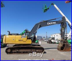 2012 John Deere 250G LC Excavator Hydraulic Thumb 48 Bucket Aux bidadoo