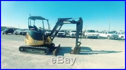 2012 John Deere 27 D 27D Excavator Mini EX Push Blade Trackhoe Used