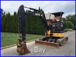 2012 John Deere 35D Rubber Track Mini-Excavator Diesel JD Crawler Excavator