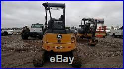 2012 John Deere 35D small excavator