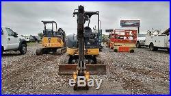2012 John Deere 35D small excavator mini excavator