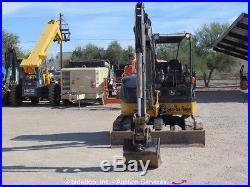 2012 John Deere 50D Mini Excavator Rubber Tracks Backhoe Aux Hyd bidadoo