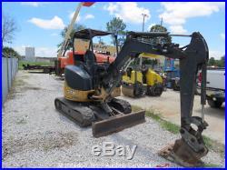 2013 John Deere 27D Mini Excavator Aux Hyd Dozer Blade Q/C bidadoo