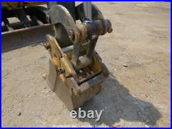 2013 John Deere 27D Mini Excavator Trackhoe Swing Boom Aux Hyds bidadoo -Repair