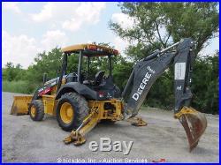 2013 John Deere 310K 4x4 Backhoe Wheel Loader Tractor Excavator 4WD bidadoo