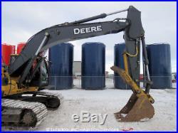 2014 John Deere 210G LC Hydraulic Excavator A/C Cab bidadoo