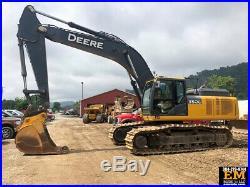 2014 John Deere 350G LC Crawler Hydraulic Excavator Cab AC Diesel Track