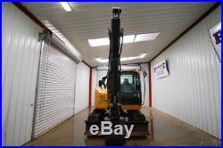 2015 John Deere 75g Mini Compact Track Excavator, Front Aux Hydraulics, Thumb