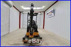 2016 John Deere 17g Mini Track Excavator, 2-speed, Warranty, Only 518 Hrs