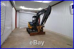 2016 John Deere 50g Mini Track Excavator, Front Aux. Hyd