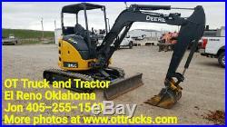 2018 John Deere 35G Mini Excavator Track Hoe 102 Hours