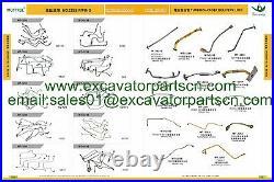 4662069 Boom Cylinder Seal Kit Fits John Deere 230C LC 230CLC