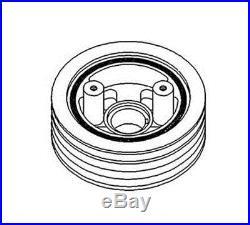 AR57241 New Crankshaft Dampener Pulley for John Deere 4040 4240 4240S