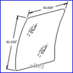 AT214113 New Upper Windshield Glass for Hitachi & John Deere 80 110 120 160LC +