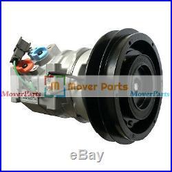 Air Conditioning Compressor 4431081 For John Deere Excavator 120C 160C LC 180