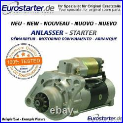 Anlasser NEU 12V 1,00kW OE Nr. 1280001151 für YANMAR TB15 TB015 TAKEUCHI