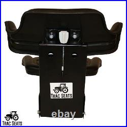 Black TracSeats Tractor Suspension Seat Fits John Deere 2140 2150 2155 2240 2255