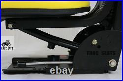 Black Trac Seats Tractor Suspension Seat Fits John Deere 1020 1530 2020 2030