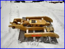 Bodine TH 200 series Excavator thumb 80 mm Komatsu Cat Demo 48